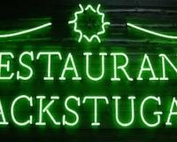 Вывеска Restaurang Backstugan