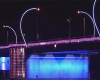Ventspils romantic bridge
